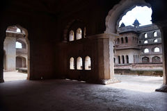 JAHANGIR MAHAL ORCHHA Stock Photo