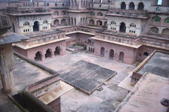 JAHANGIR MAHAL ORCHHA Royalty Free Stock Photo