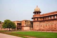Jahangir pałac w forcie Agra Zdjęcie Stock