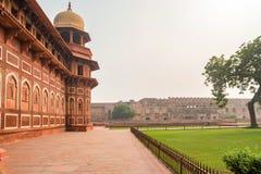 Jahangir pałac w forcie Agra Zdjęcia Stock