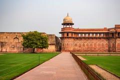 Jahangir pałac w forcie Agra Zdjęcie Royalty Free