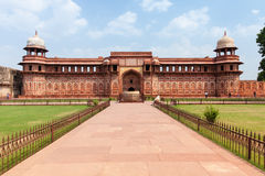 Jahangir Palace, fortificazione di Agra Immagini Stock