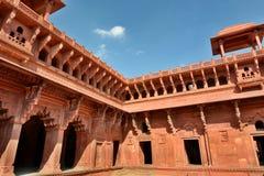 Jahangir Palace, fuerte de Agra Agra, Uttar Pradesh La India Fotos de archivo