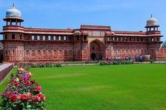 Jahangiri forte de Mahal, Agra Imagens de Stock Royalty Free