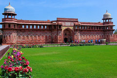 Jahangiri Mahal, Agra fort Obrazy Royalty Free