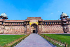 Jahangiri Mahal in Agra Red Fort Stock Photos