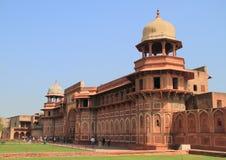 Jahangiri mahal palace in agra fort Stock Image