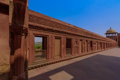 Jahangiri mahal palace in agra fort, india Royalty Free Stock Images