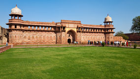 Jahangiri Mahal Panorama Royalty Free Stock Photography