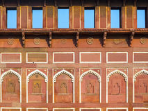 Jahangiri Mahal  in the red Fort Stock Photography