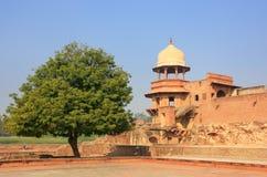 Jahangiri Mahal w Agra forcie, Uttar Pradesh, India Obrazy Stock