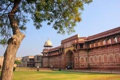 Jahangiri Mahal w Agra forcie, Uttar Pradesh, India Fotografia Royalty Free