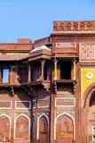 Jahangiri Mahal w Agra rewolucjonistki forcie Fotografia Stock
