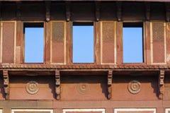 Jahangiri Mahal w czerwonym forcie w Agra Fotografia Royalty Free