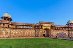 Jahangiri Mahal w czerwonym forcie w Agra Zdjęcia Stock