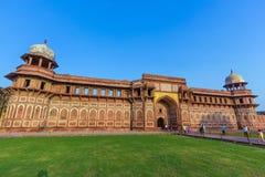 Jahangiri Mahal w czerwonym forcie w Agra Fotografia Stock