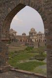 Jahaz Mahal em Mandu, Índia Fotografia de Stock