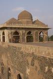 Jahaz Mahal i Mandu, Indien Royaltyfria Bilder