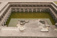 Jahaz Mahal i Mandu, Indien Royaltyfria Foton