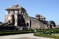 Jahaz Mahal a Mandu Immagine Stock
