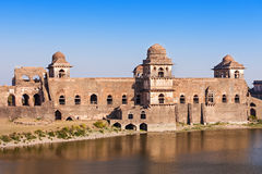Jahaz Mahal, Mandu Stock Photo