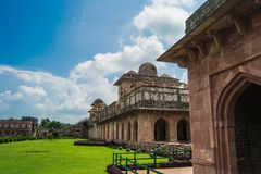 Jahaz Mahal or Ship Palace Stock Photo