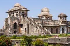 Jahaz Mahal , Ship Palace in Mandu, Madhya Pradesh, India Royalty Free Stock Photography