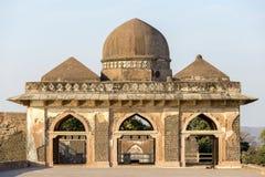 Jahaz Mahal , Ship Palace in sunrise. Mandu, Madhya Pradesh. India Stock Images