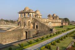 Jahaz Mahal , Ship Palace in sunrise. Mandu, Madhya Pradesh. India Royalty Free Stock Image