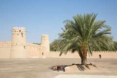 Jahili fort royalty free stock photography