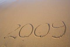 Jahr 2009 Stockfoto