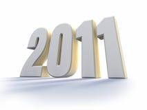 Jahr 2011 vektor abbildung