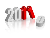 Jahr 2011 Lizenzfreies Stockfoto