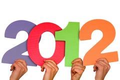Jahr 2012. Stockfotografie