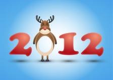 Jahr 2012 Lizenzfreies Stockfoto