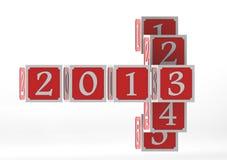 Jahr 2013 Stockfotos