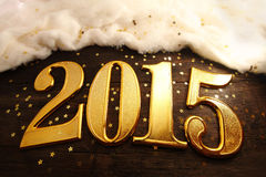 Jahr 2015 Stockbild