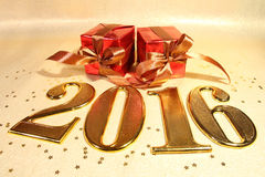 Jahr 2016 Lizenzfreies Stockbild