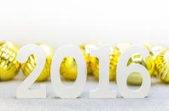 Jahr 2016 Lizenzfreies Stockfoto