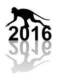 Jahr des Affen Stockfoto