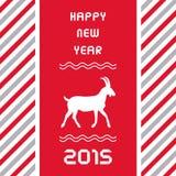 Jahr des Goat3 Stockbilder
