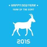 Jahr des Goat1 Stockbilder