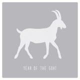 Jahr des Goat8 Stockfotos