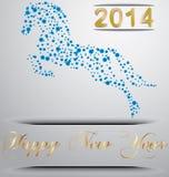 Jahr des Pferds Lizenzfreies Stockfoto