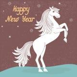 Jahr des Pferds Stockfoto