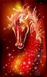 Jahr des Pferds. 2014 Lizenzfreies Stockbild