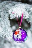 Jahr des Ziegen-Weihnachtsflitters Stockfoto
