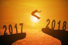 Jahr mit 2018 Nachrichten Stockfoto