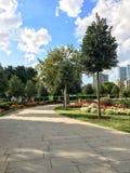 60. Jahr-Park Goztepe in Kadikoy, Istanbul Der Park ist der größte Park um Bagdat-Allee und Lizenzfreie Stockbilder