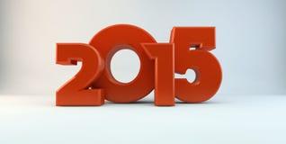 Jahr von 2015 Lizenzfreies Stockfoto